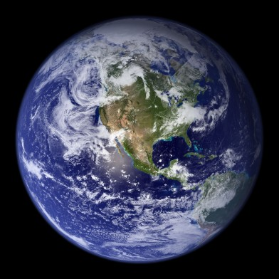 The blue marble  image via http://visibleearth.nasa.gov/view.php?id=57723